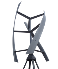 Vertical helicoid wind turbine