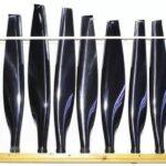 Composite propeller blades